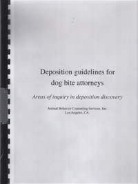 Deposition guidelines